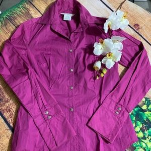 GEORGE STRETCH PINK LONG SLEEVES SHIRT🎈